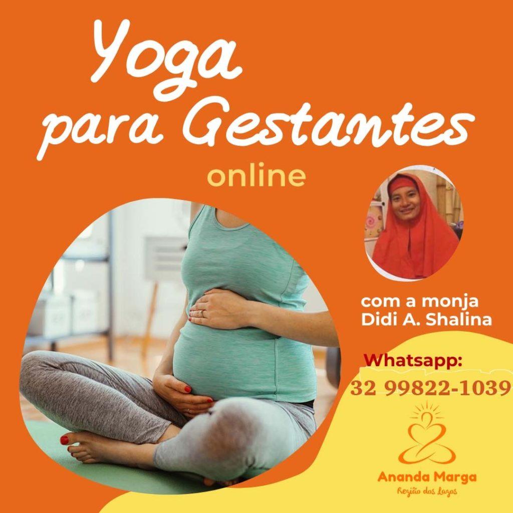 Yoga para gestantes - Didi Shálina