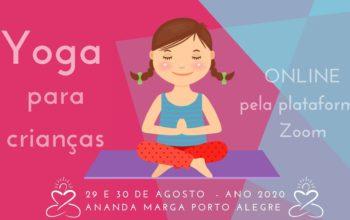 Yoga para Crianças Ago 2020