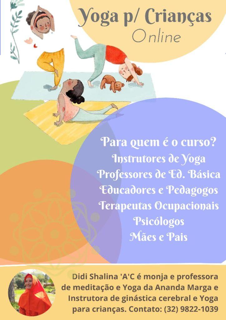 yoga para crianças com Didi Shalina